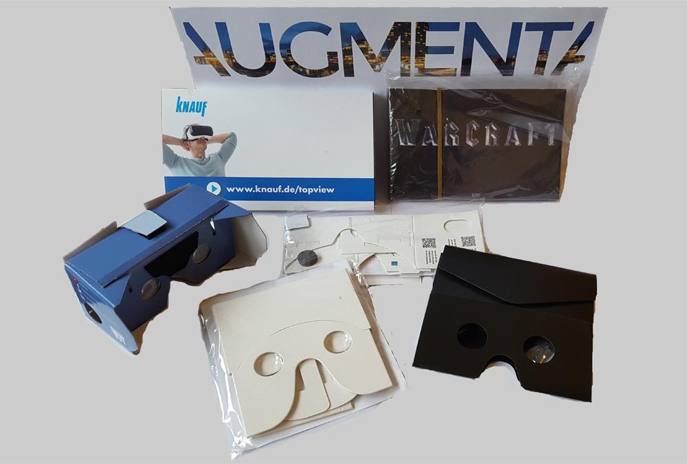 cardboard personalizzati diversi modelli