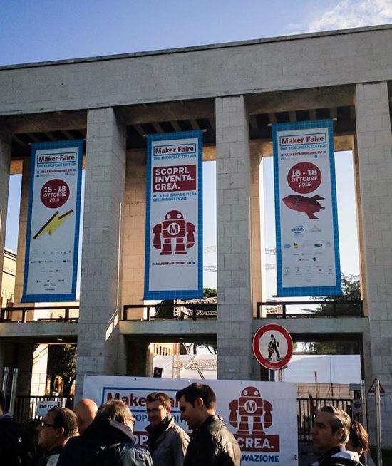 Fiera Maker Faire @ La Sapienza, Roma – Esperienza Realtà Virtuale