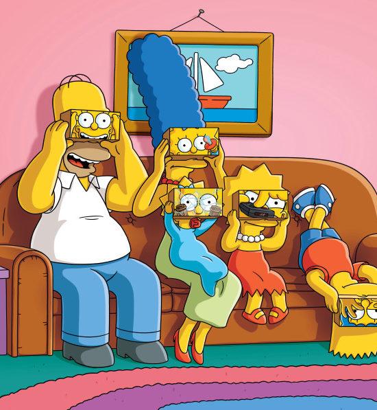 Simpsons realtà virtuale 1 Augmenta