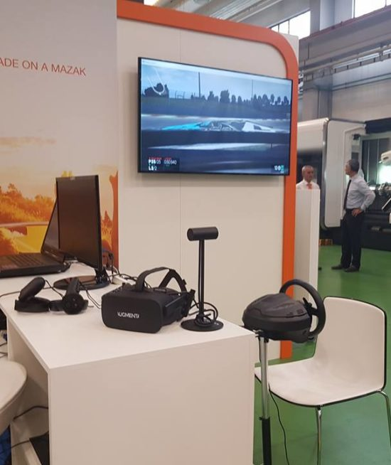 Evento Mazak Italia @ Cerro Maggiore (MI) – Noleggio Oculus Rift