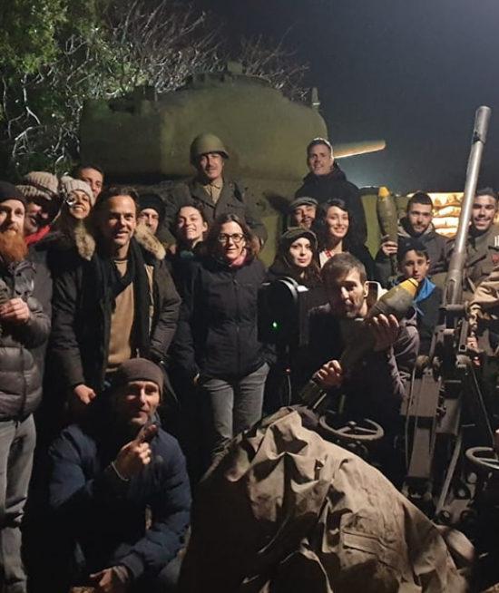 """Cortometraggio 360° """"In Trincea"""" con Eurofilm Produzioni, regia Marco Amenta – Shooting, Post-Produzione e Coordinamento VR Troupe"""