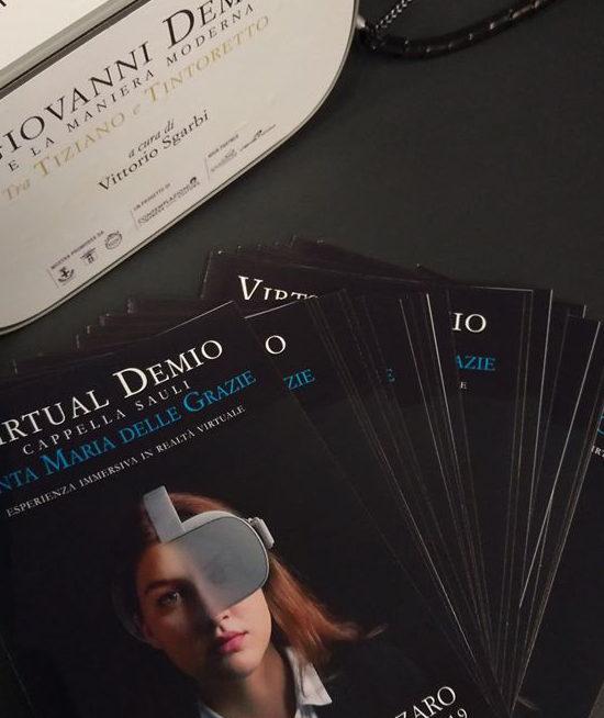 Video 360° Contemplazioni Vittorio Sgarbi e Join4B – Produzione Video 360