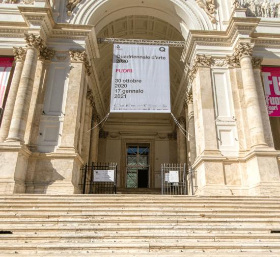 Quadriennale d'Arte 2020 - Virtual Tour interattivo 1