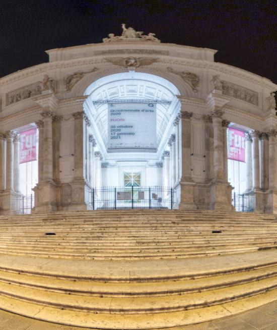 Quadriennale d'Arte 2020 – Virtual Tour interattivo